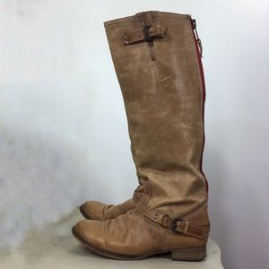 Steve Madden Roadie Leather Boot 8.5